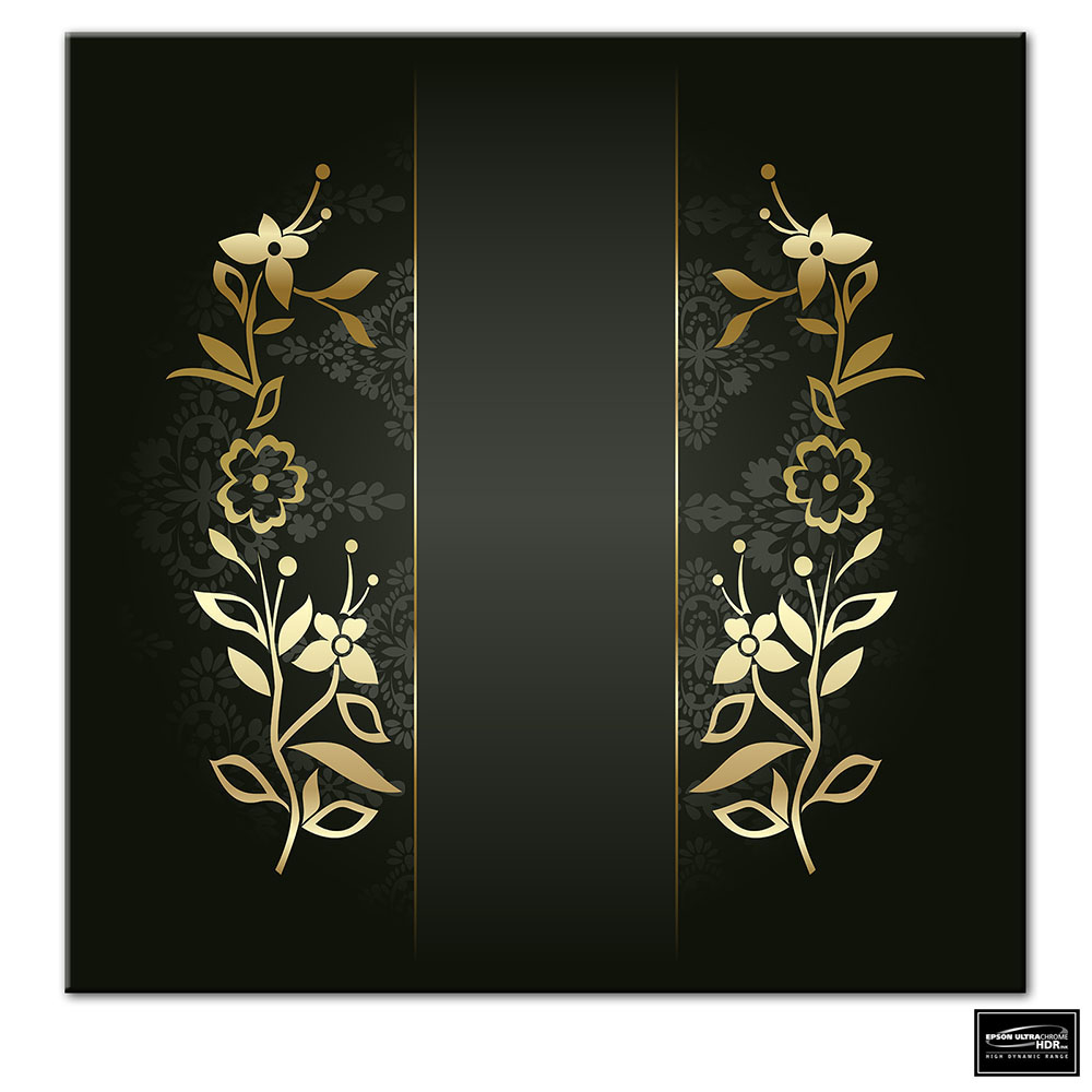 Flowers   Floral BOX FRAMED CANVAS ART Picture HDR 280gsm